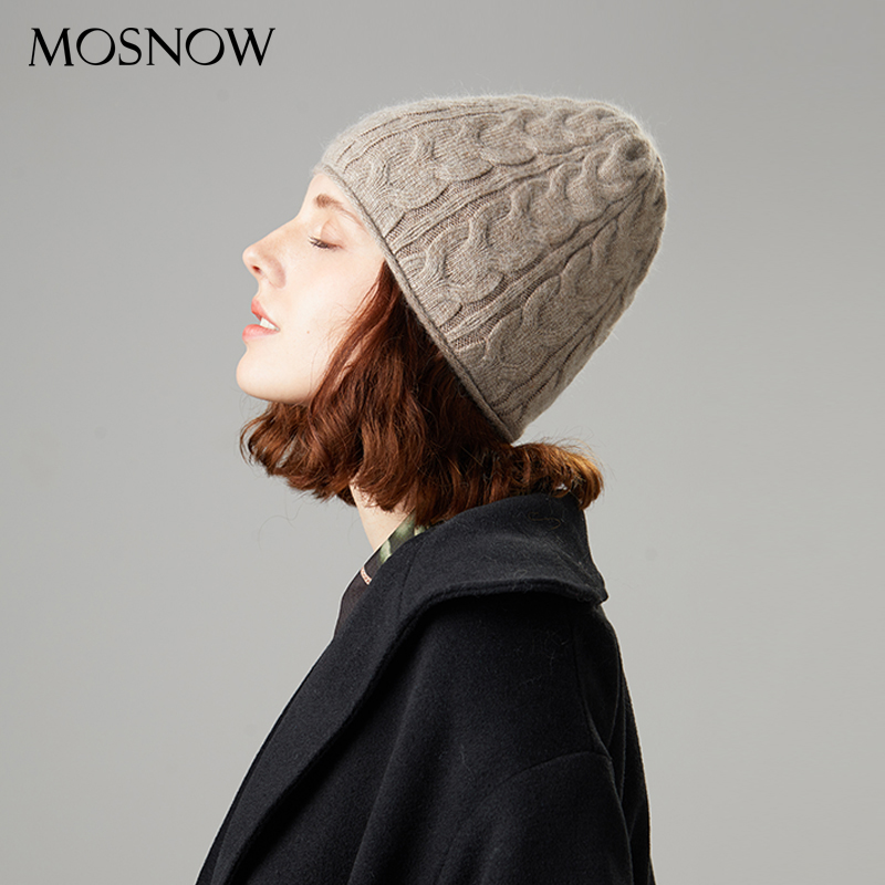 Female Beanies Winter Hats For Women Casual Autumn Knitted Beanie Girls 2019 New Fashion High Quality Soft Wool Hat