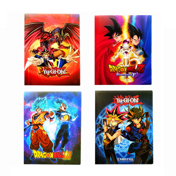 Kids Gift Cartoon Anime yu gi oh 240pcs Holder Album Toys Dragon Ball Collection Cards Album Book Top top margo collection top