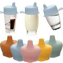Силиконовые детские чашки для кормления модная детская посуда