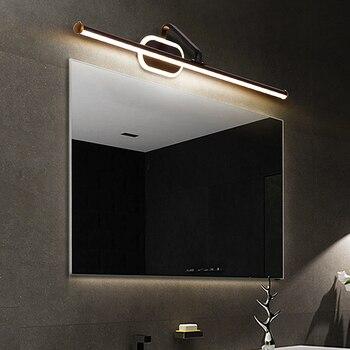 Современный светодиодный туалетный столик для ванной комнаты, зеркальный настенный светильник, настенный светильник для спальни, настенны...