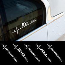 Janela lateral do carro corpo decalques para kia sportage rio k2 sorento alma picanto optima ceed forte cadenza k1 k2 k3 k4 k5 k6 acessórios