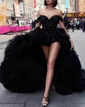 Felyn 2020 nova chegada famosa marca vestido sólido longo drapeado fora do ombro sexy celebridade festa maxi vestido