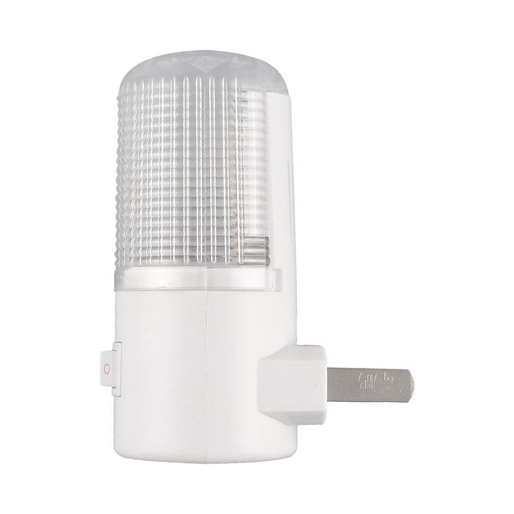 1W 4 LED Bedroom Night Light Lamp US Plug AC Plug Wall Mounting Energy Saving Mini Led Night Lighting Super Bright