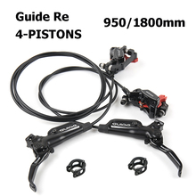 SRAM GUIDE RE 4 PISTONS Hydraulic Disc Brake MTB Mountain Bicycle Brake Front & Rear 950/1800mm Black