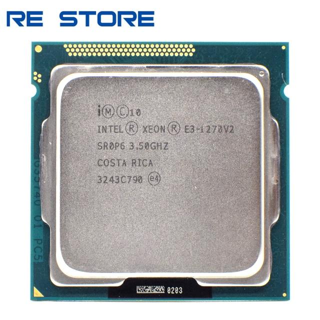 used Intel Xeon E3 1270 V2 Processor 3.5GHz LGA1155 8MB Quad Core CPU SR0P6 1