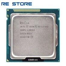 Używane Intel Xeon E3 1270 V2 procesor 3.5GHz LGA1155 8MB czterordzeniowy procesor SR0P6