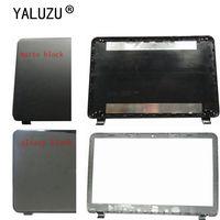 Yalumzu hp 15-g 15-r 15-t 15-h 15-250 15-r221tx excel 250 g3 255 g3 laptop monitor lcd capa frontal e traseira