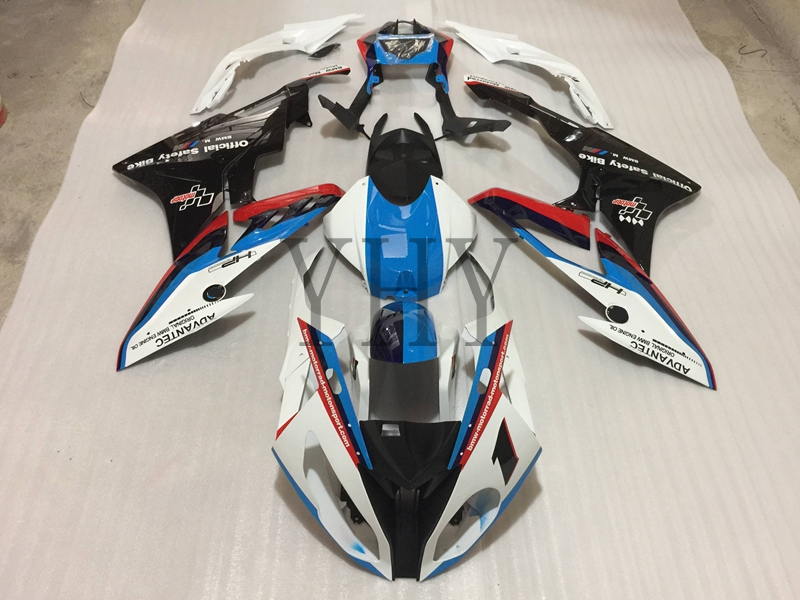 Blue Custom Fairing Kit For BMW S1000RR 2015-2016 2017 2018 S1000 RR Full Complete Cover ABS Injection Molding Fairing Frame