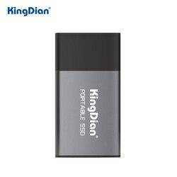 KingDian SSD 1 ТБ внешний жесткий диск 120 ГБ 250 ГБ переносной SSD 500 Гб внешний Твердотельный накопитель Жесткий диск для ноутбука