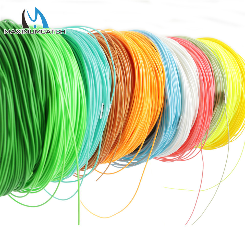 Maximumcatch 2/3/4/5/6/7/8/wt Fly Fishing Line  100FT Weight Forward Floating Fly Line Multi Colors Fishing Line