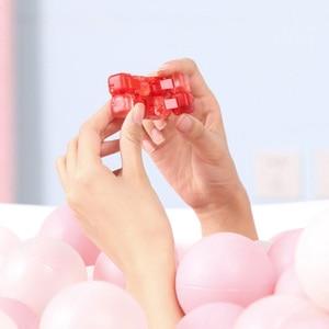 Image 5 - Xiaomi Mitu Colorful Fidget Blind Box Cube Spinner Seven Surprise Fingertip Building Block Bricks Toy Puzzle Assembling 2019 New