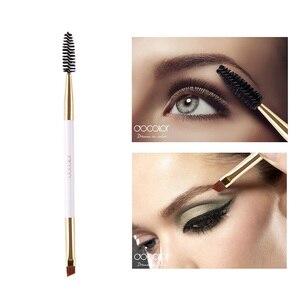 Docolor 2 в 1 кисти для макияжа для бровей и бровей, расческа для бровей, щетка для красоты бровей, профессиональная кисть для смешивания глаз