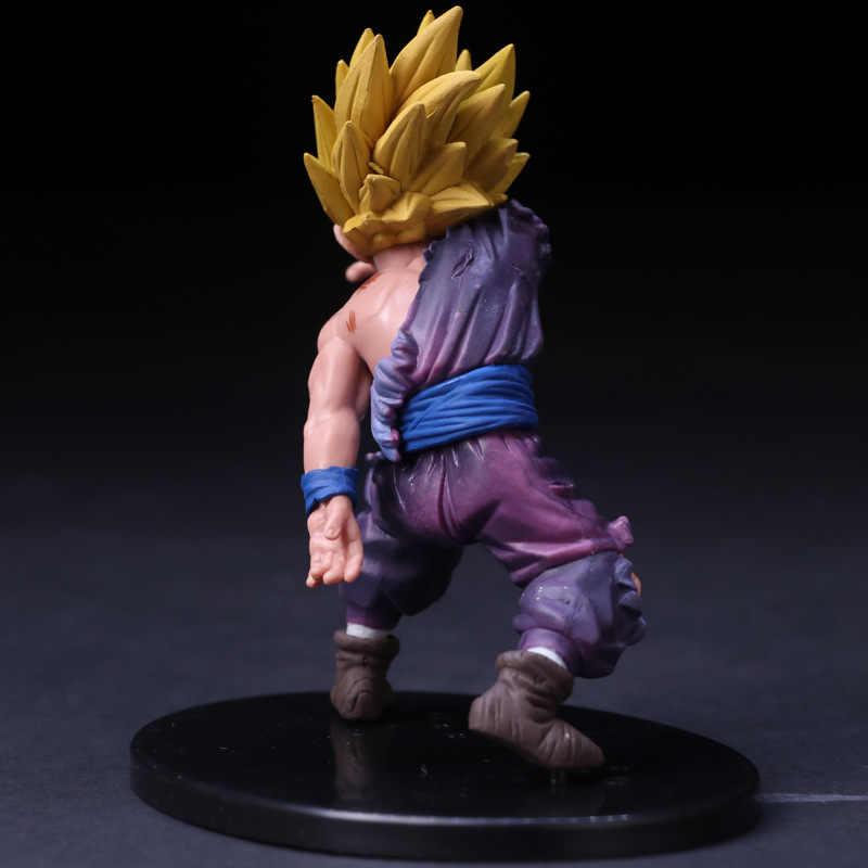 Dragon Ball Z Gohan Een Hand Battle Gewond Ver. PVC Action Figure DBZ Goku Gohan VS Fighting Collectible Model 12cm