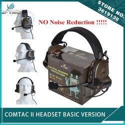 Nowy zestaw słuchawkowy z tactical Softair Comtac II Peltor bez hałasu funkcja redukcji komunikacja Comtac 2 słuchawki Airsoft w Taktyczne zestawy słuchawkowe i akcesoria od Sport i rozrywka na
