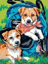 Love.Thanks Animal Diamond Embroidery Pet Dog 5D Diamond Painting Mosaic Cross Stitch Diamond Art Painting Kits 5d diamond painting animal cross stitch dog
