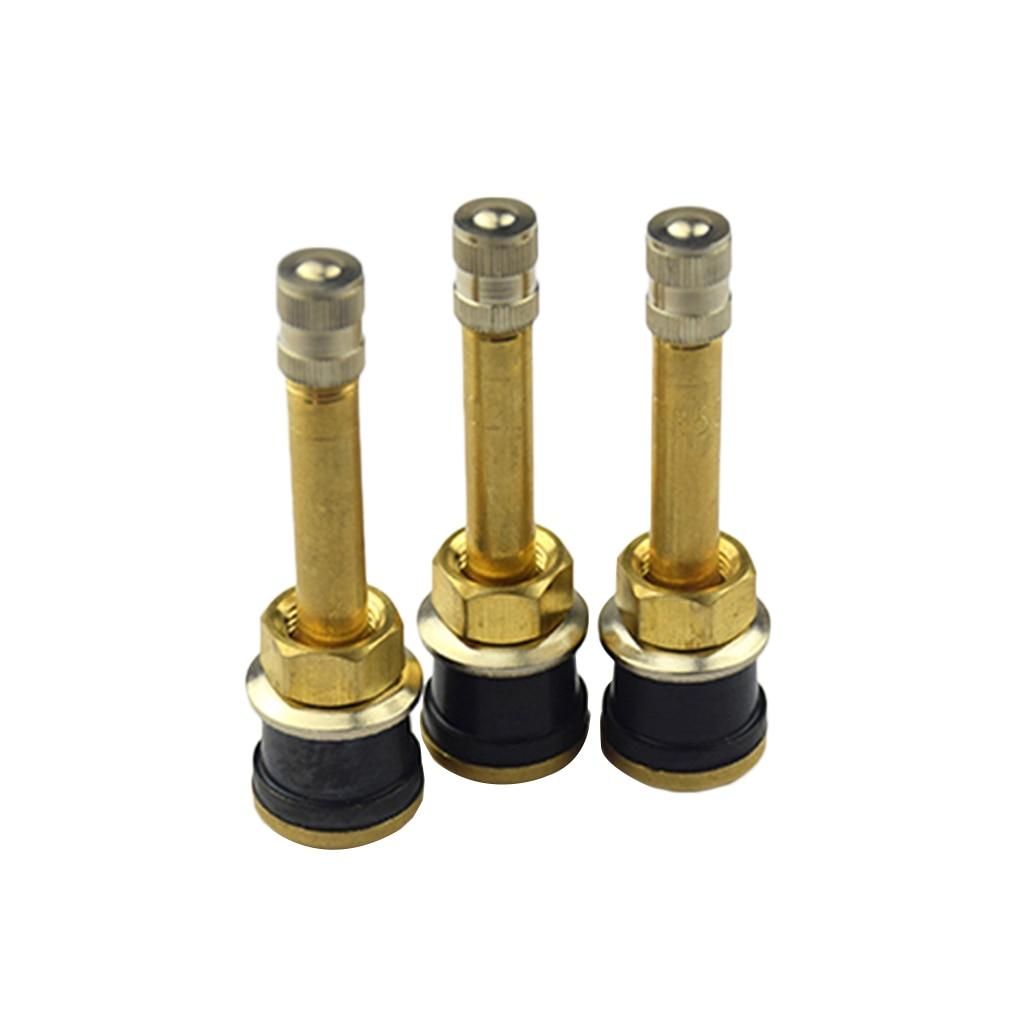 Универсальный TR502 прямой латунный шток клапана для грузовых шин автомобиля затянуть бескамерный шток клапана для шин