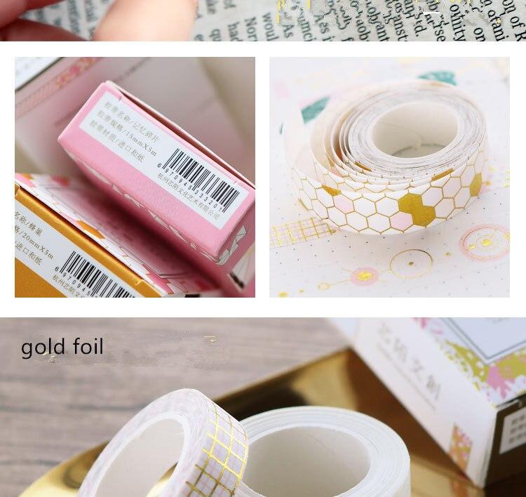 gold foil washi tape (13)