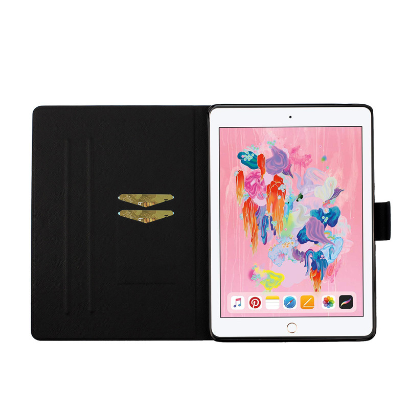 Case Cover Painted for Case iPad Flower iPad 2 7th 10 2019 Funda for Apple Generation