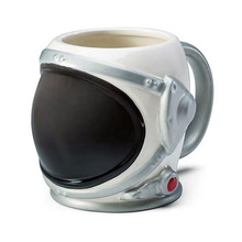 Ceramic Mug Astronaut Coffee-Cup Milk-Cup Glass Gift Creative Large Helmet-Shape Spaceman