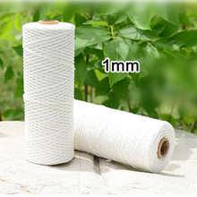1/3 мм толстая хлопчатобумажная полиэфирная веревка для мясника
