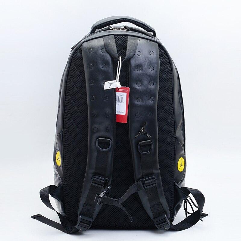 Nike Air Jordan grande capacité sac de randonnée mode sac d'entraînement 3 couleurs sac à dos scolaire - 4