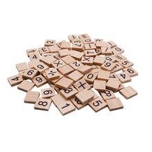 100 шт 18*20 мм бревен цветной Креативный новый деревянный буквенный