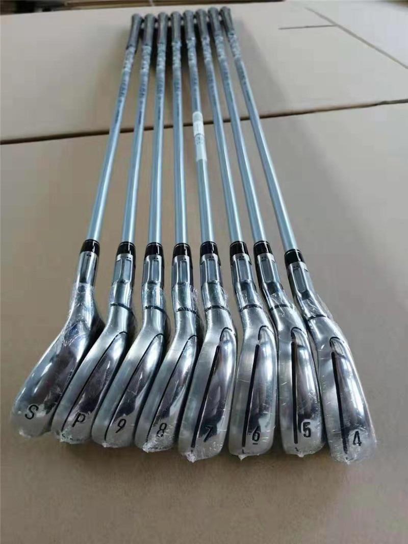 2019 Clubs de Golf M6 fer fers de Golf 4-9PS (8 pièces) R/S Flex acier/Graphite arbre avec couvre-tête