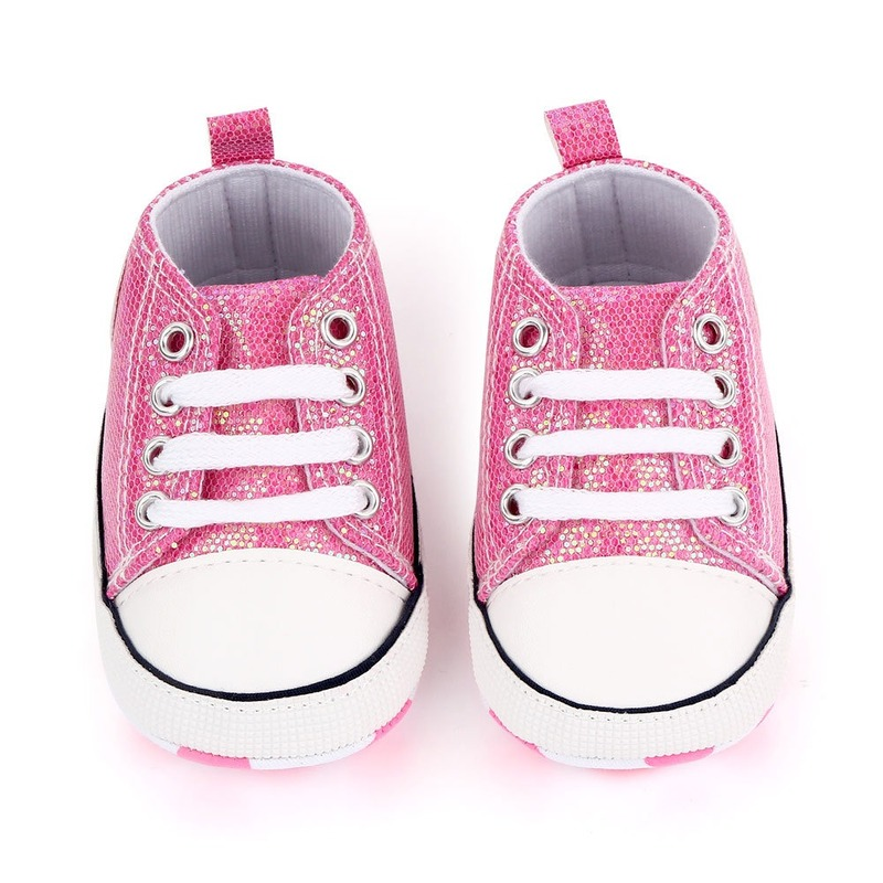 Shiny Upper Baby Shoes Moccasins Soft Sole Infant Girls Boys Sports Shoes Toddlers First Walkers 2020 Newborn Baby Prewalkers 4