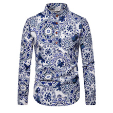 6 Colors New Men Casual Shirt Slim Long Sleeve  Camisa Masculina Shirt, Chemise Homme Social