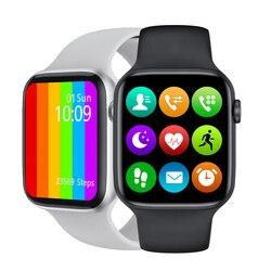 Смарт-часы IWO W26 Pro Series 6, водонепроницаемые Смарт-часы с функцией измерения ЭКГ, сердечного ритма, температуры, PK IWO 8 13 для Apple Android, 2021