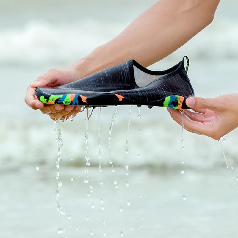 Swimming Shoes Outdoor Water Sports Seaside Beach Aqua Surfing Quick Dry Footwear For Men Women Unisex Blue Dropshipping