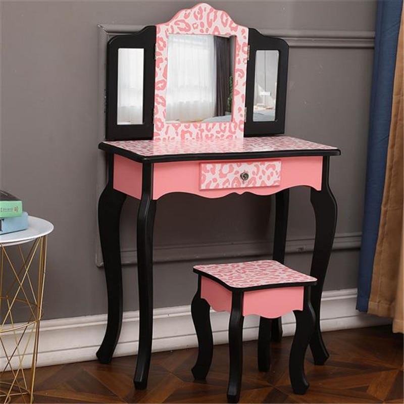 Vanity Princess Pink Leopard Print