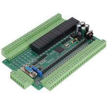 цена на Programmable Controller PLC Industrial Control Board with 4AD 2DA for  FX2N Industrial Control Board