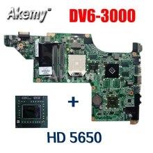 Laptop Motherboard DV6 DV6-3000 Hp Pavilion 603939-001 Free-Processor 5650 DA0LX8MB6D1