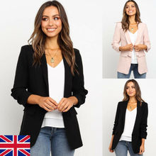Spring and Autumn Ms. Jacket Slim Lapel Blazer Coat Commuter Ms. Work Jacket Sol