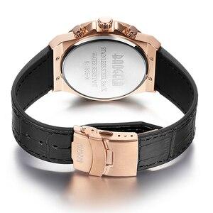 Image 2 - BAOGELA Homme Nouveau 쿼츠 Montres 2019 Étanche Chronographe décontracté Lumineux Montre Bracelet Homme En Cuir Bracelet Relog