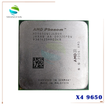 Amd phenom x4 9650 quad-core desktop 2.3 ghz cpu hd9650wcj4bgh soquete am2 +/940pin