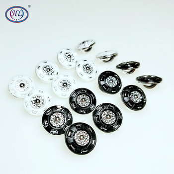 HL 30/50/150pcs 13mm New Plating Buttons Shank DIY Apparel Sewing Accessories Shirt Buttons hl 18x15mm 50 100pcs mix color fish shank plastic buttons children s garment sewing accessories diy crafts
