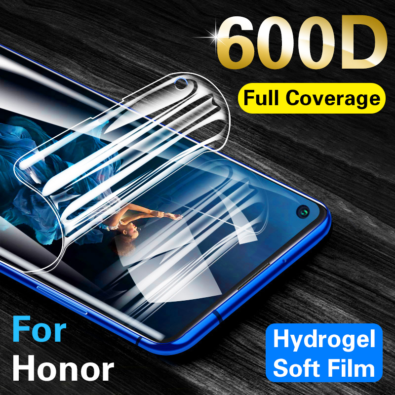 600d Soft Hydrogel Protective Film For Huawei Honor 20 Pro 10 Lite Light 10i 20i 20s 8s 8c 8x 8a Pro 9x Premium Play Film