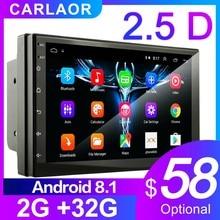 2.5D Android 8,1 2 Din Автомобильный Радио Мультимедиа GPS, видеоплеер 2DIN для Volkswagen Nissan hyundai Kia Toyota Lada Ford Chevrolet