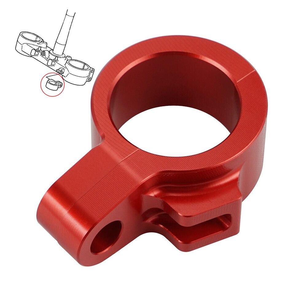 Зажим для шланга передней тормозной линии, держатель зажима кабеля для Honda CR125R 250R 500R 80R 85R RB CRF 150 250 450 R X 45468-KS7-830 2021 2020
