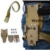 Tactical Drop Leg Band Strap QLS 19 22 Gun Holster Adapter for Safa Glock 17 Beretta M9 Hunting Pistol Waist Belt Platform 1