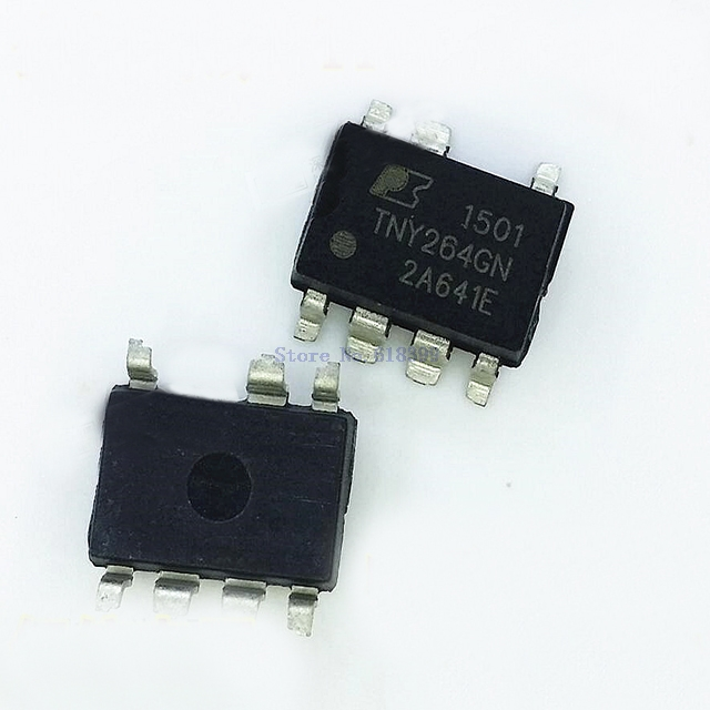 5PCS X TOP242G IC OFFLINE SWIT OVP UVLO HV 8SMD Power