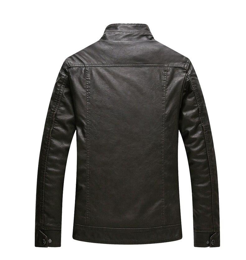 New Brand Motorcycle Leather Jacket Men Warm Velvet Short Faux Pu Leather Jackets aqueta de couro masculina LX1906 Куртки из искуственной кожи      АлиЭкспресс