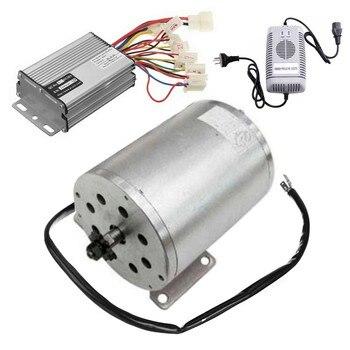 Controlador de velocidad del Motor eléctrico sin escobillas, 1800W, 48V, cargador de batería de plomo y ácido sellado para Scooter ATV Go Kart, Minimoto, Buggy de bicicleta