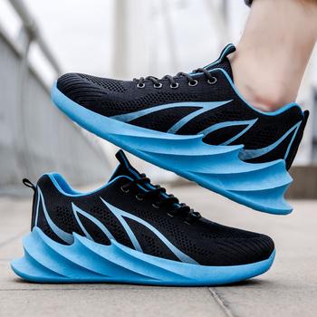 Letnie buty męskie sportowe buty męskie codzienne sportowe buty ciężarówka buty lekkie i wygodne buty markowe chiny męskie buty na co dzień tanie i dobre opinie UNICORN RABBIT Mesh (air mesh) Gumowe Lace-up Pasuje prawda na wymiar weź swój normalny rozmiar Podstawowe Wiosna jesień
