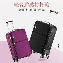 Oxford Cloth Suitcase Universal Wheel Trolley Case Men
