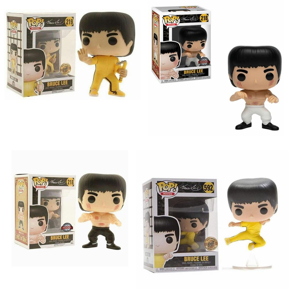 FUNKO POP New Arrival Limited Edition Bruce Lee Vinyl Action Figure Collectible Model Toys For Children Christmas Gift image