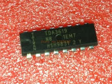 2pcs/lot TDA3619 DIP-16 3619 DIP16 In Stock