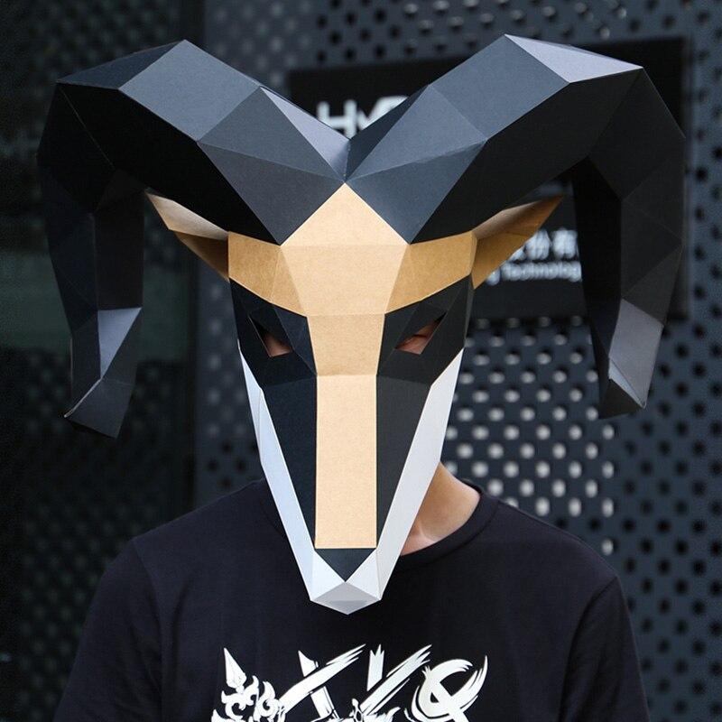 מסכת ראש אוריגמי - אייל  2